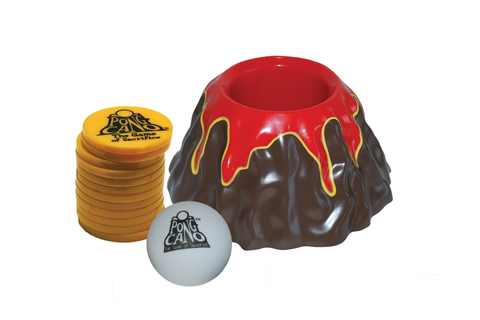 PongCano Game Volcano Chips And Ball