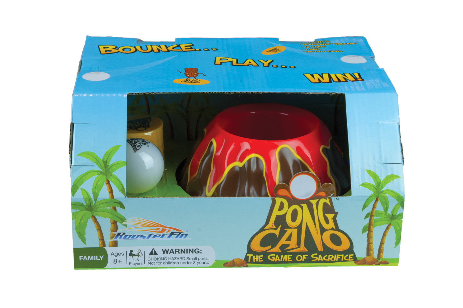 PongCano Game Box Front