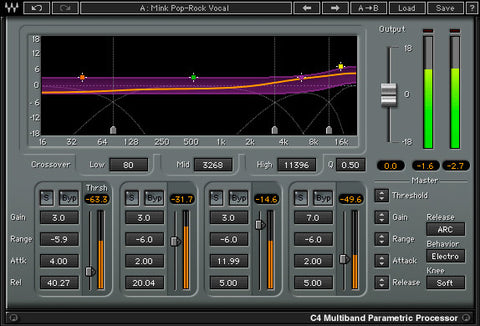 C4 Multiband Compressor