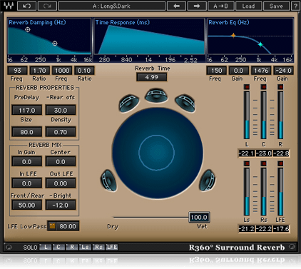 R360 Surround Reverb