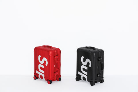 Rimowa's suitcase collaboration with Supreme