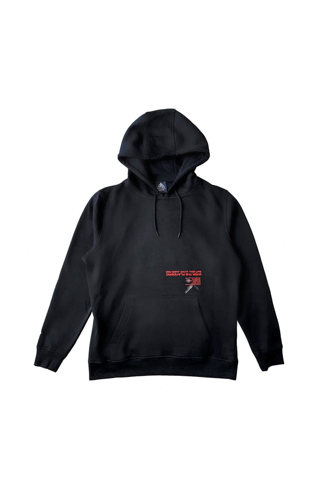 P[L]andemic Hoodie - You Dont Want This Life - UK Streetwear Brand - Streetwear Hoodies, High Street Fashion for Your London Streetwear Clothing Style