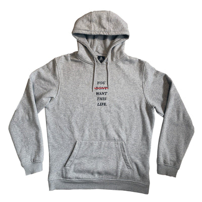 Limited Edition Grey Redline Hoodie - YDWTL