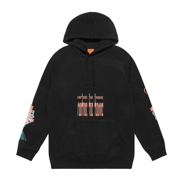CTT X YDWTL Thinker Hoodie - You Dont Want This Life - UK Streetwear Brand - Streetwear Hoodies, High Street Fashion for Your London Streetwear Clothing Style