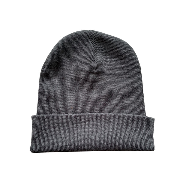Grey Redline Beanie - You Dont Want This Life - UK Streetwear Brand - Streetwear Hoodies, High Street Fashion for Your London Streetwear Clothing Style