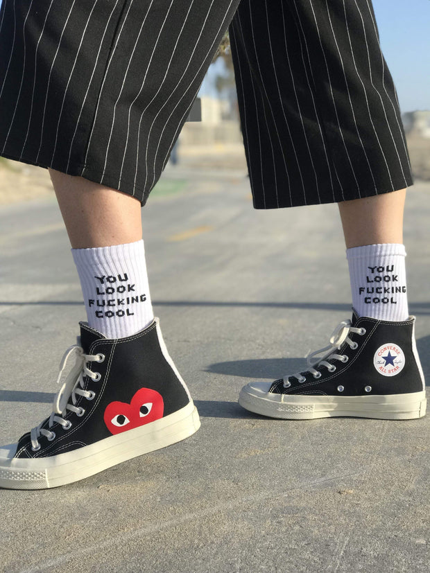 YLFC Cool Socks - You Dont Want This Life - UK Streetwear Brand - Streetwear Hoodies, High Street Fashion for Your London Streetwear Clothing Style
