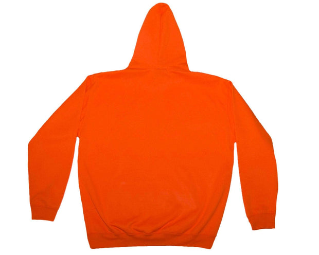 YDWTL Limited Edition Life Safety Orange Hoodie - You Dont Want This Life - UK Streetwear Brand - Streetwear Hoodies, High Street Fashion for Your London Streetwear Clothing Style