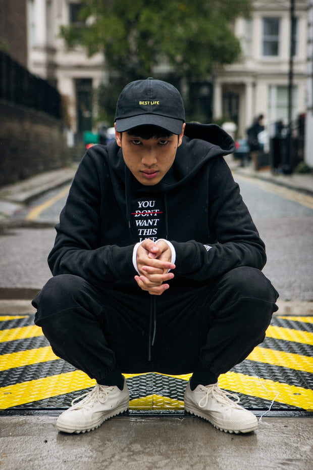 YDWTL Redline Hoodie - You Dont Want This Life - UK Streetwear Brand - Streetwear Hoodies, High Street Fashion for Your London Streetwear Clothing Style