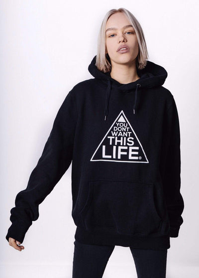Women's Original Hoodie - You Dont Want This Life - UK Streetwear Brand - Streetwear Hoodies, High Street Fashion for Your London Streetwear Clothing Style