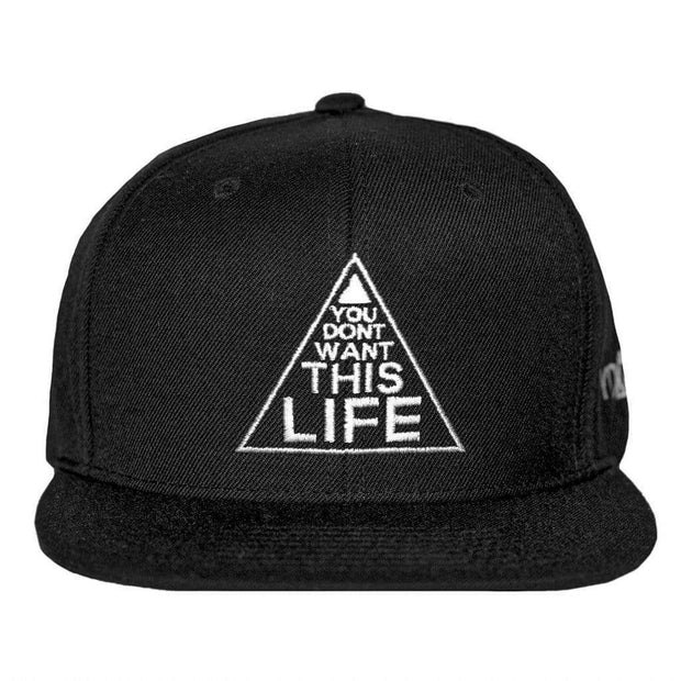 Original YDWTL Snapback - You Dont Want This Life - UK Streetwear Brand - Streetwear Hoodies, High Street Fashion for Your London Streetwear Clothing Style