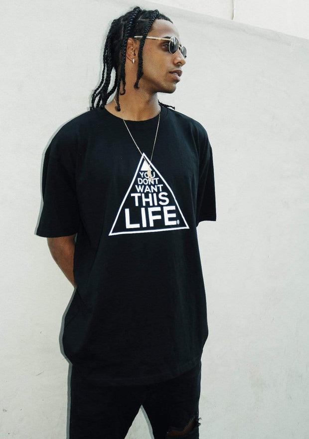 Original YDWTL T-Shirt - You Dont Want This Life - UK Streetwear Brand - Streetwear Hoodies, High Street Fashion for Your London Streetwear Clothing Style