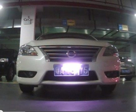 Infrared IR LED Anti-Photo/Anti-ALPR Privacy License Plate Frames