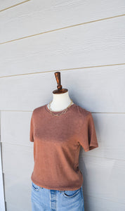 Thread & Supply - Alchemy Tee in Ginger
