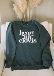 Heart for Clovis Sweatshirt in Pepper