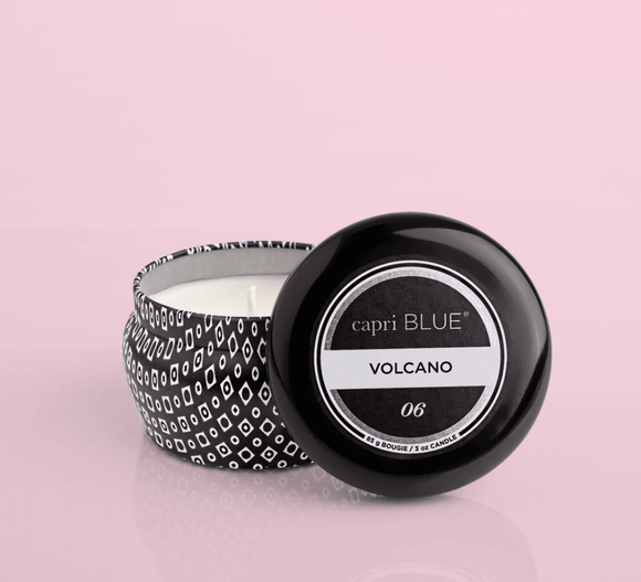 Capri Blue - Volcano Black Mini Tin