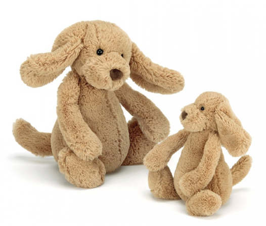 JellyCat - Bashful Toffee Puppy Small