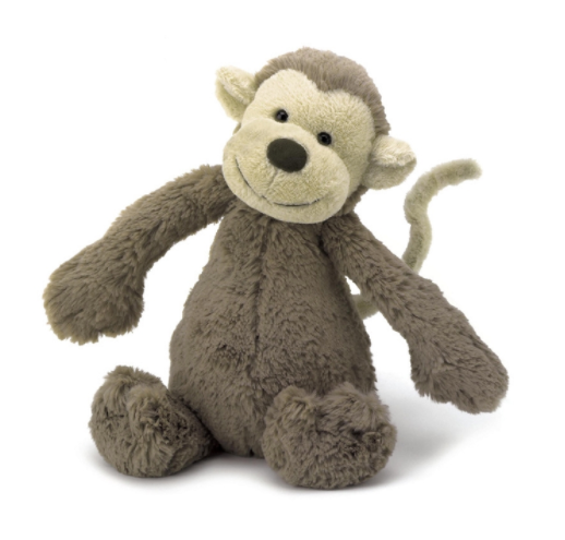 JellyCat - Small Bashful Monkey