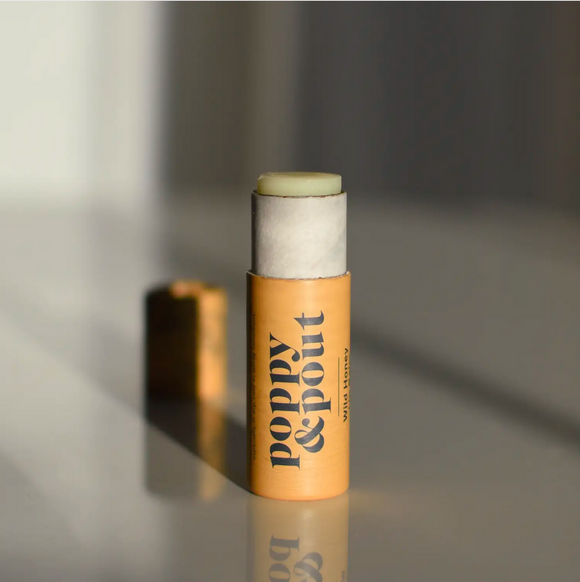 Poppy & Pout Lip Balm - Wild Honey