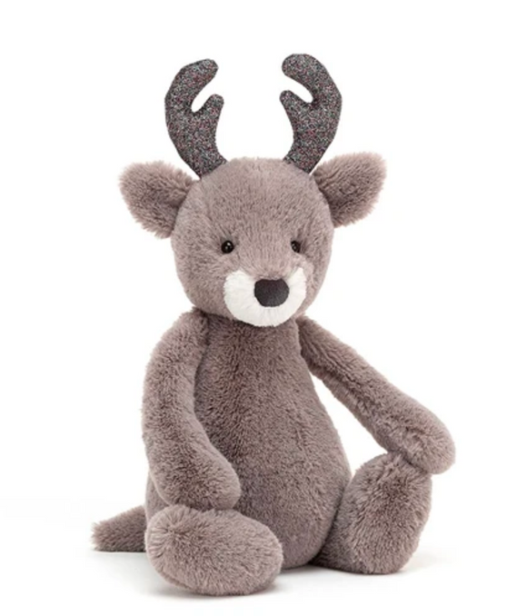 JellyCat - Bashful Glitz Reindeer Medium