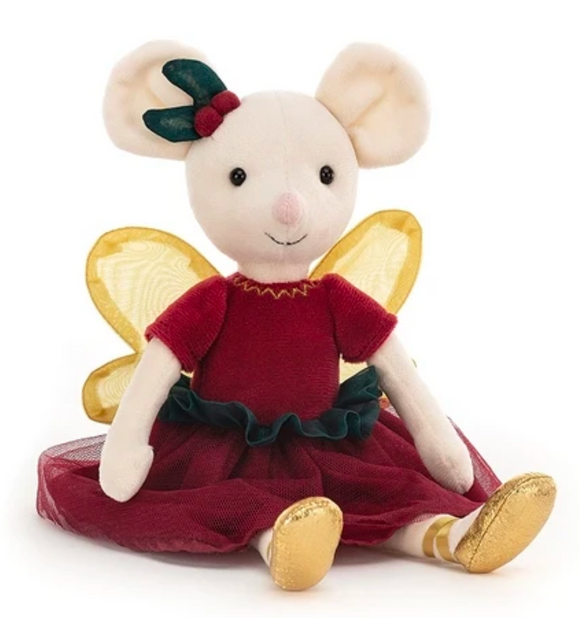 JellyCat - Sugar Plum Fairy Mouse