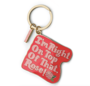 Load image into Gallery viewer, Babysitter's Dead Enamel Keychain
