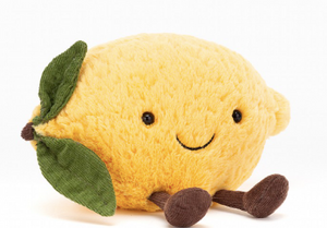Load image into Gallery viewer, JellyCat - Amuseable Lemon