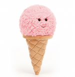 JellyCat - Irresistible Ice Cream Strawberry