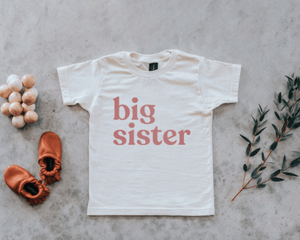 Load image into Gallery viewer, Big Sister Tee - Ivory