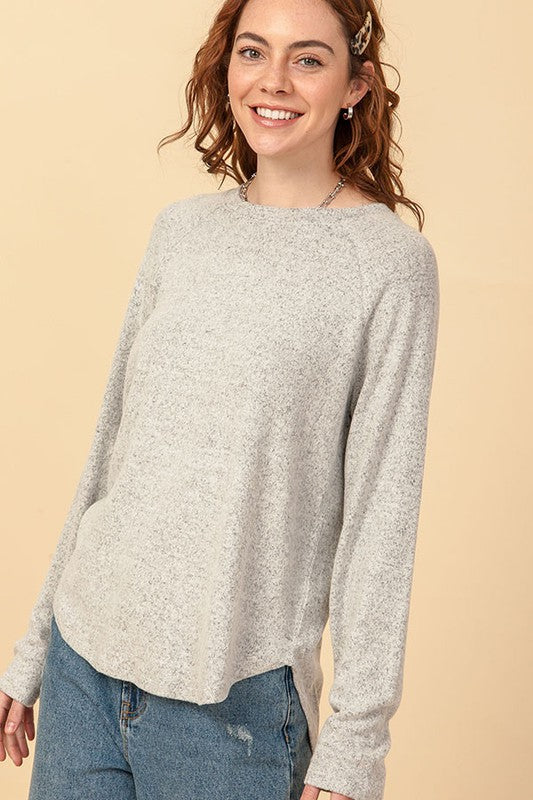 Nova Sweater - Heather Gray