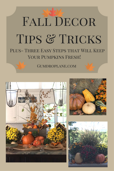 Fall Decor Tips & Tricks