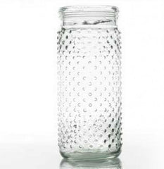 Small Glass Hobnail Vase