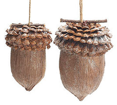 Oversized Acorn Ornaments