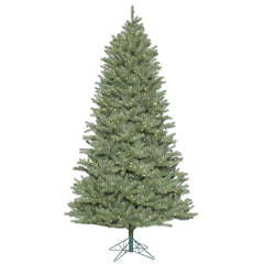 Vickerman 7.5' Colorado Spruce Slim Artificial Christmas Tree with 800 Clear Lights