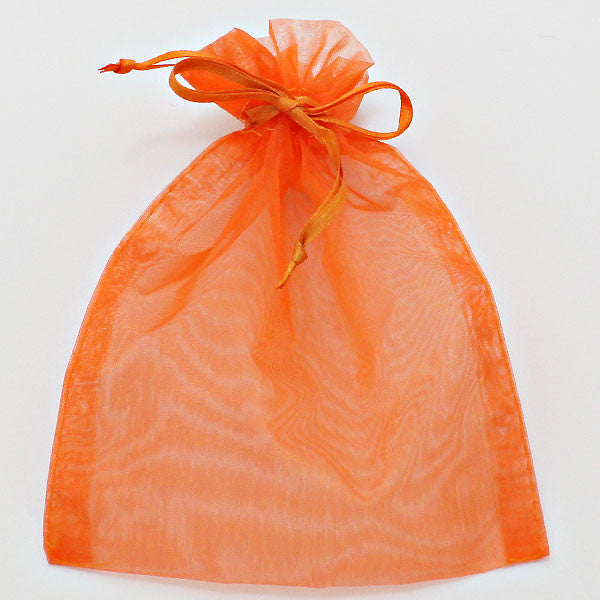 Orange Organza Gift Bag