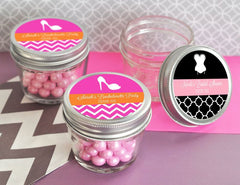 MOD Pattern Theme Small 4 oz Mason Jars