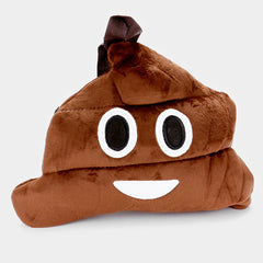 Poop Emoji Plush Backpack