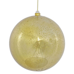 "Vickerman 8"" Shiny Gold ball Ornament."