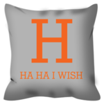 Dreaming of H Pillow