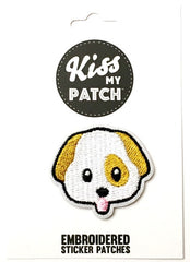 Dog Embroidered Adhesive Patch
