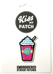 Frapp Embroidered Adhesive Patch