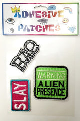 BAE, Slay, Alien Sticker Patch Set