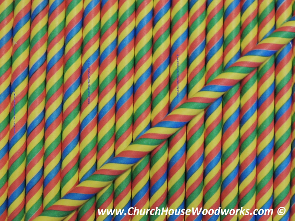 rainbow striped kaleidoscope paper straw for weddings parties events showers decorations