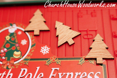 Wooden Christmas Ornaments For Sale by ChurchHouseWoodworks.com