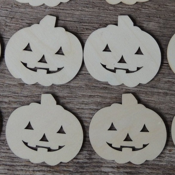 2 inch wood pumpkin shapes wooden pumpkins fall halloween crafts embellishments shapes