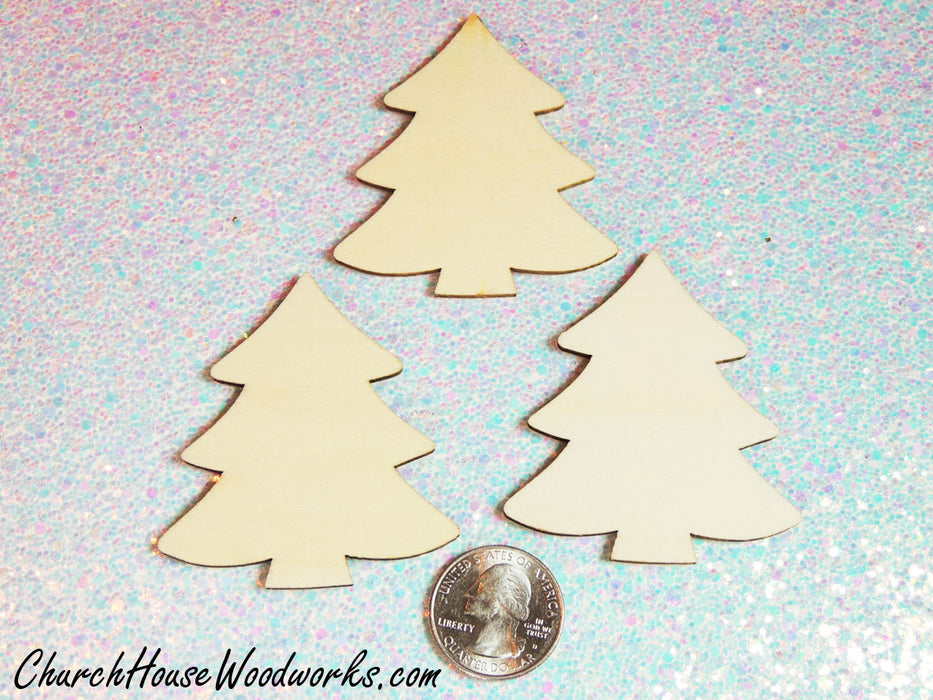 Wooden Christmas Ornaments-Christmas Tree Ornaments by ChurchHouseWoodworks.com