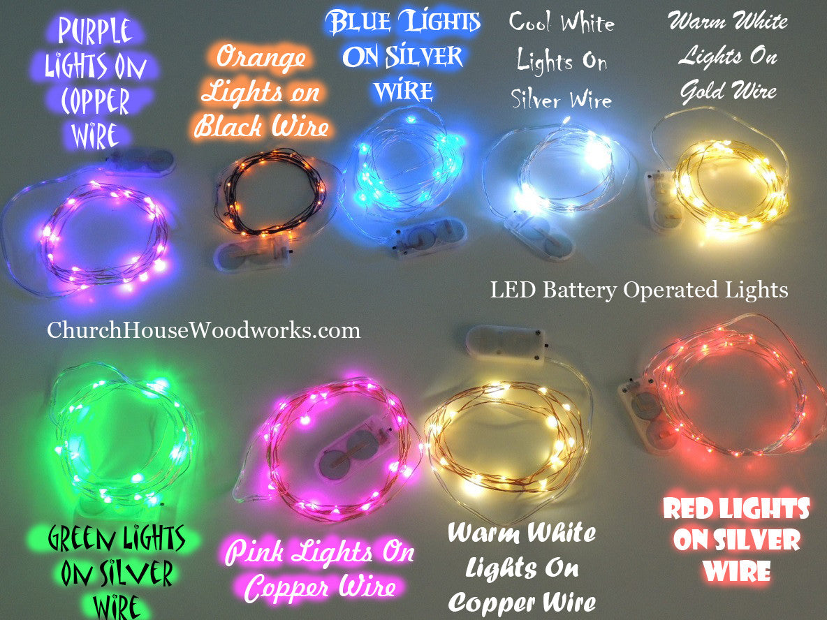 Cool White LED Battery Fairy Lights - Bedroom Fairy Lights ...