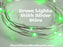 Green LED Battery Operated Fairy Lights for Weddings for Bedroom Decorations