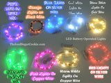 Blue LED Battery Operated Fairy Lights for Weddings for Bedroom Decorations
