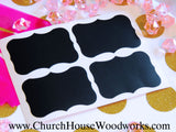 Chalkboard Stickers Labels 100