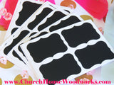 Chalkboard Stickers Labels